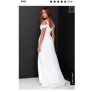Lulu's Dresses - Lulu's ivory maxi dress